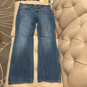 Lucky Brand Dungarees Jean Easy Rider Mid-rise